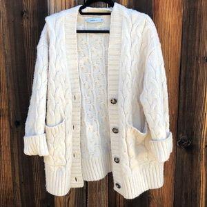 Zara Knit Oversized Cardigan size small